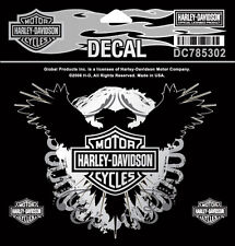 HARLEY DAVIDSON CREST EAGLE DECAL  5 INCH  DECAL