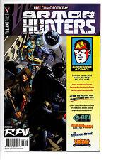 Valiant FCBD Armor Hunters Austin Books Exclusive 1/500 Near Mint -