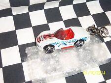 Hot Wheels: Custom Key Chain, White Dodge Viper 1:64