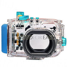 40M Waterproof Underwater Housing Hard Case Bag for Canon WP-DC43 Powershot S100