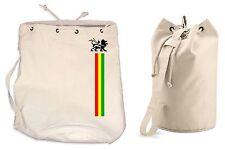 LION OF JUDAH DUFFLE BAG - College Rucksack Gym Reggae Rasta Bob Marley Backpack