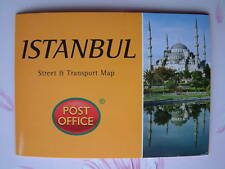 ISTANBUL Street & Transport Map Pocket Guide NEW Pop-Up Capital Turkey