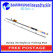 Daiwa Strikeforce 2 Piece Fishing Rod 1.98mt Saltwater Freshwater Spinning