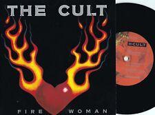 Cult ORIG UK PS 45 Fire woman NM '89 Beggars Banquet NM BEG228 Hard Rock