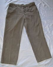 Mens Dockers Premium Relaxed Fit Corduroy Pants~ Light Brown~38W 32L~100% Cotton
