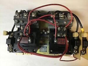 Allen Bradley 705-BOD103 Size 1 Reversing Starter With 120 Volt Coils