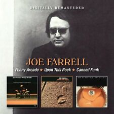 JOE FARRELL - PENNY ARCADE/UPON THIS ROCK/CANNED FUNK  2 CD NEUF