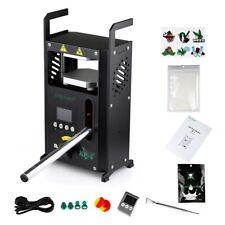 Rosin Press Kp4 Rosin Tech Heat Press Hydraulic 4 Ton Digital Display Black