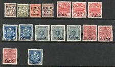 Turkey Cilicia 1919-1921 Postage due,Tax,Porto collection of 16. MLH.Very Fine