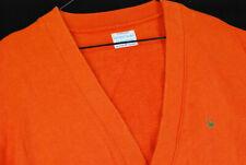 Vintage 90s United Colors of Benetton Cardigan Sweater Mens M Orange Jumper