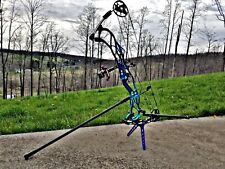 2019 Hoyt Pro Force Loaded,  Electric Teal, 50 Pounds, 26.5-30 DL, Right handed