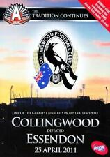 G19 BRAND NEW SEALED AFL - 2011 Anzac Day Game Collingwood V Essendon (DVD,2011)