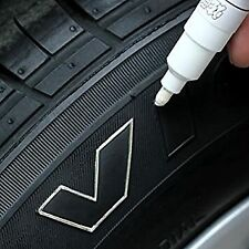 CAR TYRE PEN   WHITE   PAINT MARKER PEN TIRE FOR TYRES METAL FABRIC PERMANENT