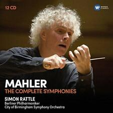 Sir Simon Rattle - Mahler: The Complete Symphonies (NEW 12CD)