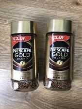 NEW SEALED Nestle NESCAFE Gold Blend Coffee 95g X2 Bundle Caffeinated Hot Drink