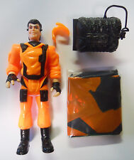 VINTAGE! 1991 Hasbro James Bond Jr Flight Gear Figure-Complete-Parachute