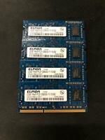 8GB (4x2GB) PC3-12800s DDR3-667MHz/PC2-6400 Laptop Memory SODIMM Intel 200pin US