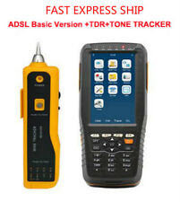 ADSL ADSL2 Tester ADSL WAN & LAN Tester with Tone Tracker and TDR Fault Locator