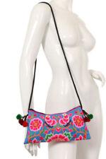 Embroidered Floral Shoulder Bags