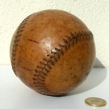 TRES ANCIENNE BALLE DE BASEBALL CUIR SPORT VINTAGE
