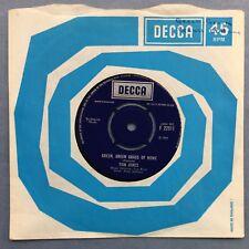 Tom Jones - Vert Herbe Verte de Maison - Decca F.22511 Ex+ État