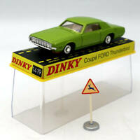 Atlas Dinky toys ref 1419 COUPE FORD THUNDERBIRD 1:43 Diecast Models green