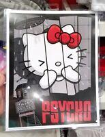 Authentic Universal Studios Hello Kitty Psycho Shower Horror Movie Poster Print
