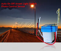 Gift 220V 10A Photoswitch Photocell Street Light Sensor Switch Auto On Off