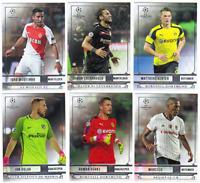2016-17 2017 Topps UEFA Champions League Showcase - Base Cards - Card #'s 1-200