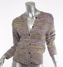 MARC JACOBS Multi-Color Long-Sleeve Cardigan Button-Up Sweater Top S NWT $1300