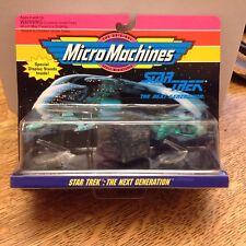 1993 Next Gen Micro Machine Klingon Attack Cruiser Romulan Warbird Borg Ship