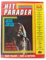 Vintage Hit Parader Magazine Back Issue September 1970 Janis Joplin VG / FN B