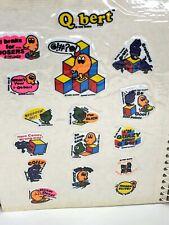 Vtg 1980s Sticker Collection Puffy Q-Bert Ms.Pac-Man E.T. Donkey Kong HE-MAN