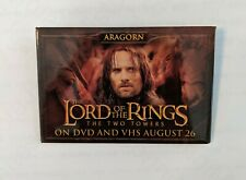 Lord of the Rings: The Two Towers Home Video Promotional Button Aragorn
