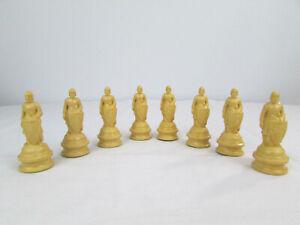 One Vintage Anri Replacement Chess Piece White Pawn ES Lowe Renaissance