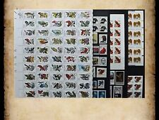 US Postage Stamps Face Value $42+ Unused Lot #132 Sheets Blocks Birds