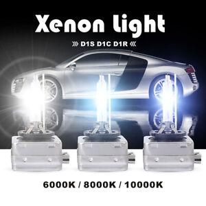 PAIR HID XENON HEAD LIGHT BULB 6000K 8000K 5000K D1S For Chrysler 300C 2005-2010