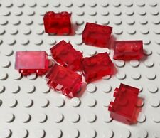 Missile Tip ~ Translucent Bricks ~ New Lego Parts ~ 8 1x1 Red Bulb