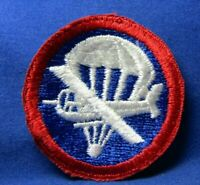 WWII Army Air Forces Airborne Glider Paratrooper Patch NO GLOW