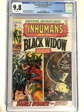 Amazing Adventures #1 1970 CGC 9.8 White RARE DOUBLE COVER! 1st Solo Black Widow