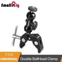 Multi-function Double Ballhead Arm Clamp For Dji Ronin Gimbal Dslr Camera