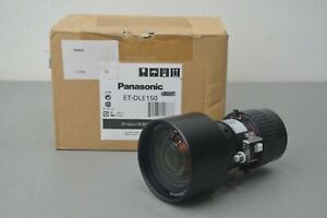 New Panasonic ET-DLE150 Short Throw Power Zoom Projector Lens 1.3 - 1.9:1