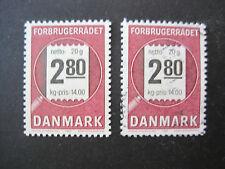 DANMARK DANIMARCA MiNr. 890 post freschi ** & timbrato (V 391)