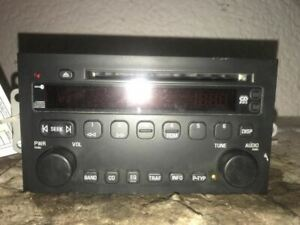 Radio Receiver CD Player 2004-2007 04-07 BUICK RENDEZVOUS 10376762
