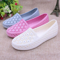 Summer Womens Shoes Slip On Loafers Hollow out Flats Sandals Casual Shoes Round