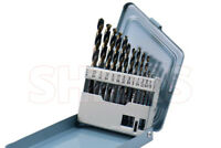 """Shars 13Pcs HSS 6542 1/16-1/4"""" By 64ths Jobber Drill Set Increased 2.62 Time  !}"""