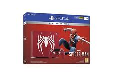 Sony PlayStation PS4 SLIM 1TB Limited Edition Spider-Man Console Bundle NEW