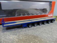 1/87 Herpa Nooteboom Ballasttrailer 6-achs enzianblau 076715-002