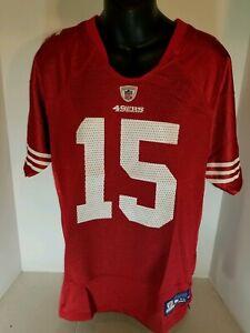San Francisco 49ers #15 Michael Crabtree Football youth XL  Jersey REEBOK Nwot