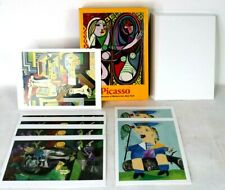 Vintage Pablo Picasso Post Cards Note Cards (7) + Envelopes + Box Modern Art